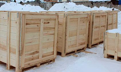 производство деревянных ящиков