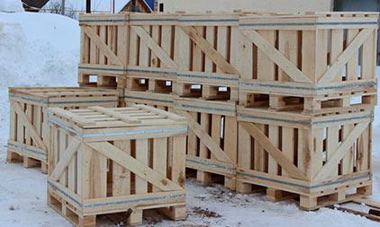 изготовление деревянных ящиков