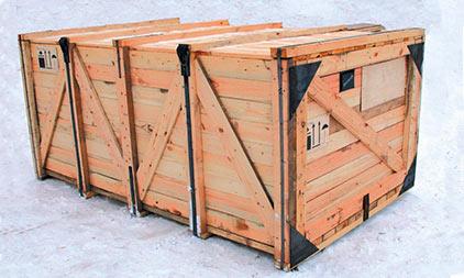 Деревянные ящики для тары