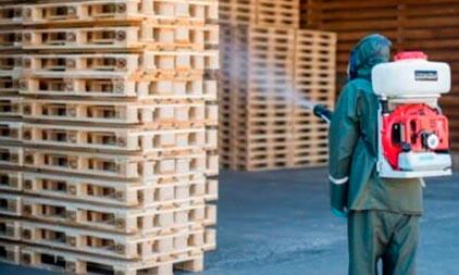 Фитосанитарная обработка деревянной тары: стандарт ISPM 15
